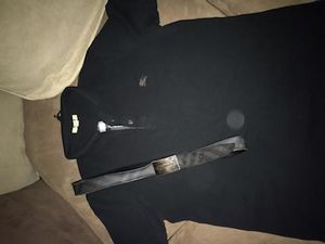 Burberry polo belt and prps for Sale in Detroit, MI