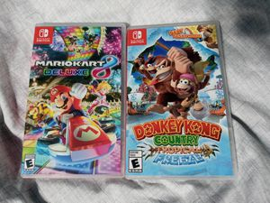 Donkey kong/Mario kart- nintendo switch for Sale in Madera, CA