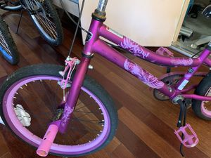 "Kent 20"" 2 Cool BMX Girl's Bike, Satin Purple for Sale in Garrison, MD"