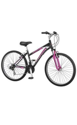 26 Schwinn Sidewinder Womens Mountain Bike, Matte Black/Pink for Sale in Fremont, CA