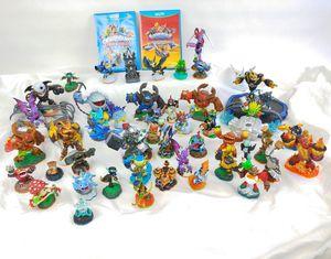 Huge lot Nintendo Wii U Skylanders Trap Team Superchargers 2 Games 2 Portal Pads 49 Figures for Sale in Phoenix, AZ