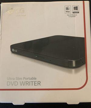 LG Ultra Slim Portable DVD Writer for Sale in Covington, WA
