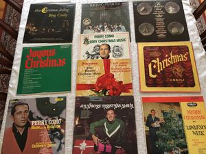 Lot of 10 vintage vinyl Christmas albums for Sale in Silver Spring, MD