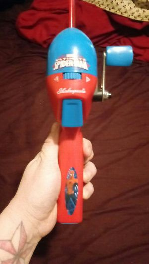 Kids Spiderman fishing pole. Only used once! for Sale in Portland, OR