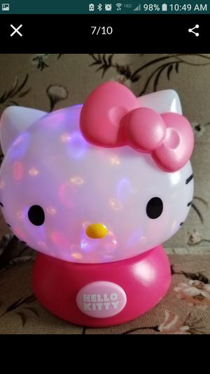 Hello Kitty night light for Sale in Toledo, OH