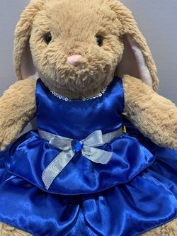 Build A Bear Workshop Cute Bunny With A Blue Dress for Sale in Los Angeles,  CA