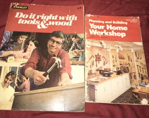 Books. Do it right with tools and wood and your own workshop for Sale in Harahan, LA