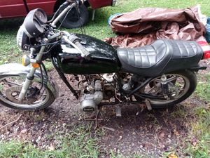 1980s suzuki motorcycle needs repair the engine needs repair has keys 80s model. Asking 600 for Sale in Atlanta, GA