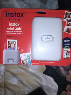 Instax Mini Link Smartphone Printer With Film for Sale in Yakima,  WA