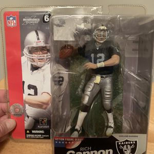 McFarlane Rich Gannon Oakland Raiders 7inch Figure for Sale in Plainfield, IL