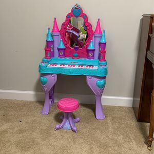 Vanity with Stool and Piano keyboard for Sale in Cumming, GA