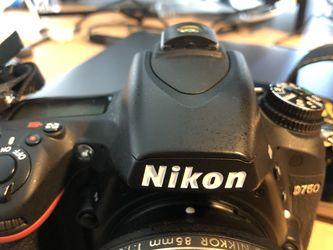 Nikon D750 (lenses for sale too) for Sale in Buena Park,  CA