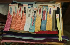 Vintage Zipper Lot Sewing Supplies for Sale in Austin, TX