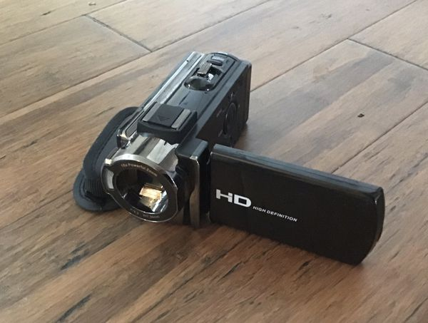 High Definition Video Camera (Charger Included)