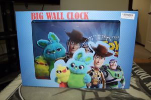 Disney/Pixar Toy Story 4 Wall Clock for Sale in Brier, WA
