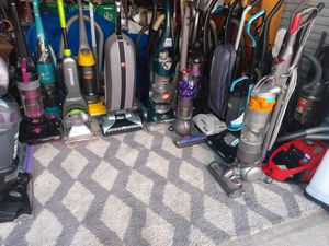 Vacuum cleaners, carpet cleaners, steam mops, floor cleaners, garment steamers,etc... for Sale in Tampa, FL