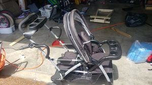 Graco click connect double stroller for Sale in Franklin, TN