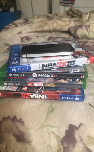 Games and Iphone Bundle‼️ for Sale in MIDDLE CITY WEST, PA