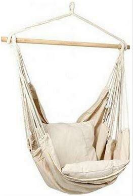 BORMART HANGING ROPE HAMMOCK CHAIR PORCH SWING SEAT YARD BEDROOM INDOOR OUTDOOR NEW IN BOX for Sale in Fresno, CA