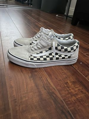 white checkered vans for Sale in Los Angeles, CA
