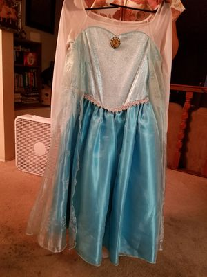 Elsa dress from jcpennys for Sale in Victorville, CA