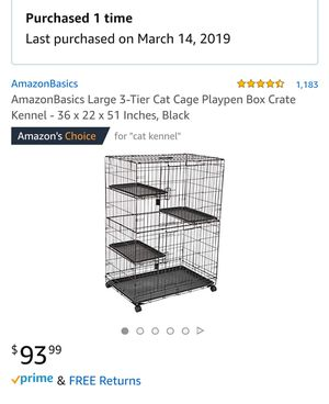 Cat kennel for Sale in Mesquite, TX