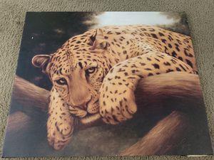 Leopard original canvas for Sale in York, PA