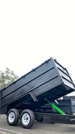 8x12x4 DUMP TRAILER for Sale in Bloomington, CA