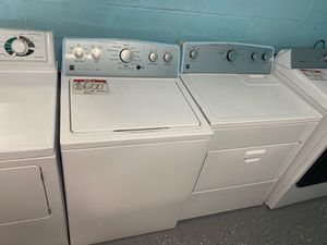 Kenmore washer and electric dryer 10% off for Sale in Reisterstown, MD