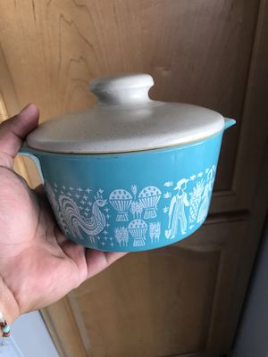 Vintage Pyrex Container Dish with Lid Made in USA for Sale in Santa Ana, CA
