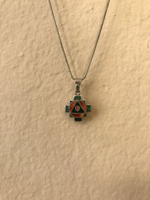 New Mexico/ Arizona silver necklace for Sale in San Diego, CA