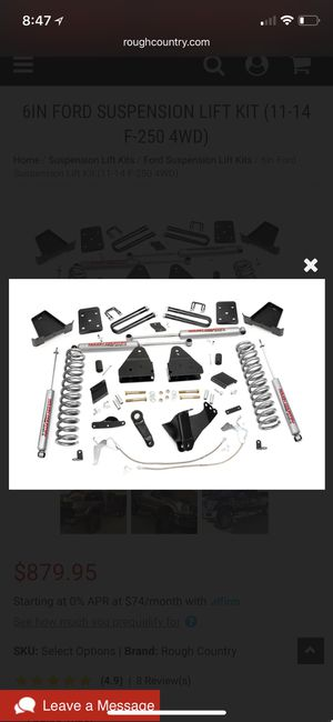 Ford F-250 lift kit for Sale in Hialeah, FL