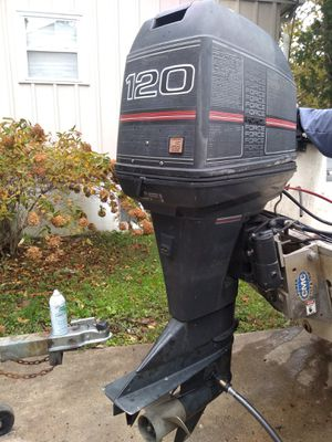 Mercury force 120hp outboard motor for Sale in Lanham, MD