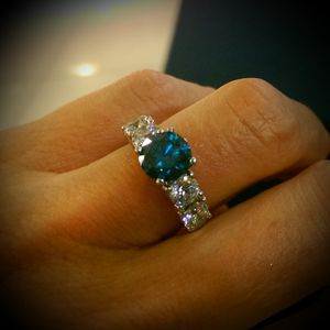 Blue Diamond Engagement Ring for Sale in Kingsport, TN