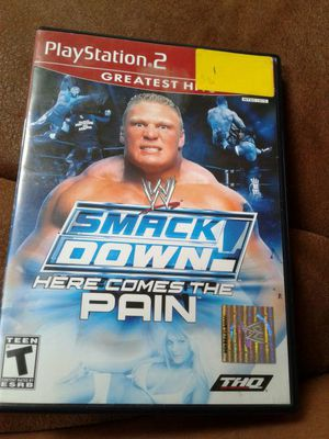 Play station 2 Smackdown Here Comes the Pain for Sale in Indianapolis, IN