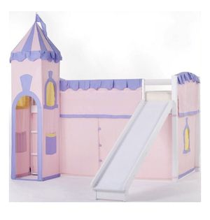 Hillsdale School House Junior Loft Castle Tent for Bunk Bed, Pink A12-9152 for Sale in St. Louis, MO