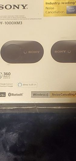 Sony XF-1000XM3 Wireless Noise Canceling Earbuds for Sale in Orange,  CA