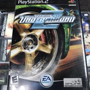 Need For Speed Underground 2 Ps2 $30 Gamehogs 11am-7pm for Sale in Commerce, CA