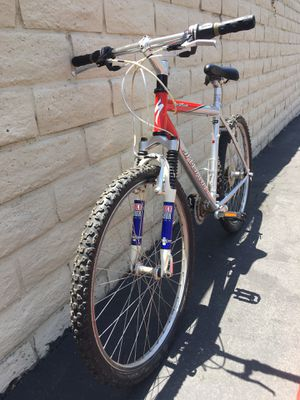 Vintage Specialized HardRock mountain bike with original Indy Rock Shox's for Sale in Carlsbad, CA