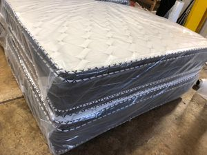 Jumbo pillow tops for Sale in Park Forest, IL