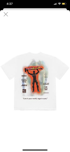 Travis Scott Fortnite Rage shirt Large for Sale in View Park-Windsor Hills, CA