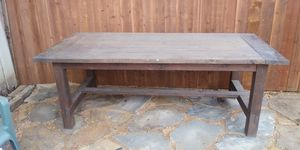 Mesa de patio 85 inches largo 38 inches ancho for Sale in Fort Worth, TX