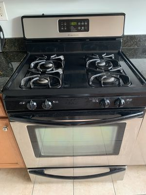 Frigidaire oven range gas stainless steel for Sale in Silver Spring, MD