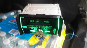 PIONEER DOUBLE DIN CD PLAYER WITH BLUETOOTH for Sale in Phoenix, AZ