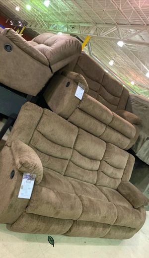 ❄❄ BRAND NEW ❄SPECIAL] Tulen Mocha Reclining Living Room Set for Sale in Jessup, MD