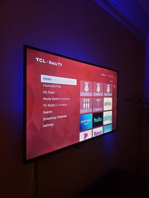 "TCL 50"" Smart Roku TV for Sale in Baton Rouge, LA"