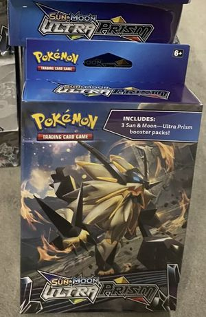 Pokemon Sun and Moon Ultra Prism Hanger Box Lot (14) for Sale in Temecula, CA
