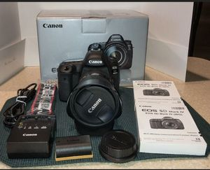 Canon EOS 5D Mark IV DSLR Camera w/ EF 24-105 f/4L IS II USM Lens Excellent Cond for Sale in Coldwater, MS