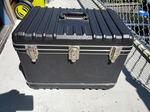 Hard plastic protective case! Camera, musical equipment, electronics, etc. for Sale in Seattle, WA