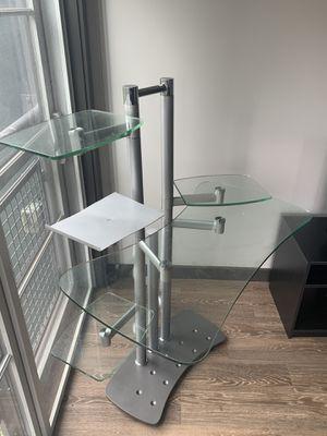 Glass desk for Sale in Nashville, TN